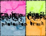 Grunge Crack Photoshop Brush