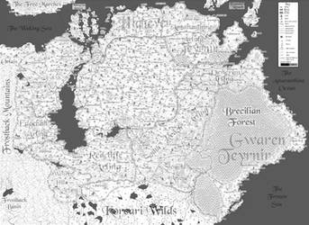 Ferelden Map (Detailed) by RuBecSo