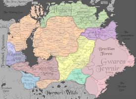 Ferelden Map (Simple)