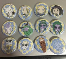 WoW Button Set - Alliance