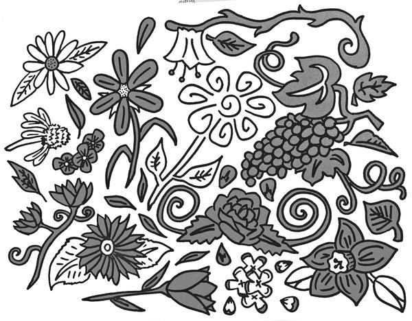 Sharpie Flowers by mirmi4a on DeviantArt Sharpie Art Flowers