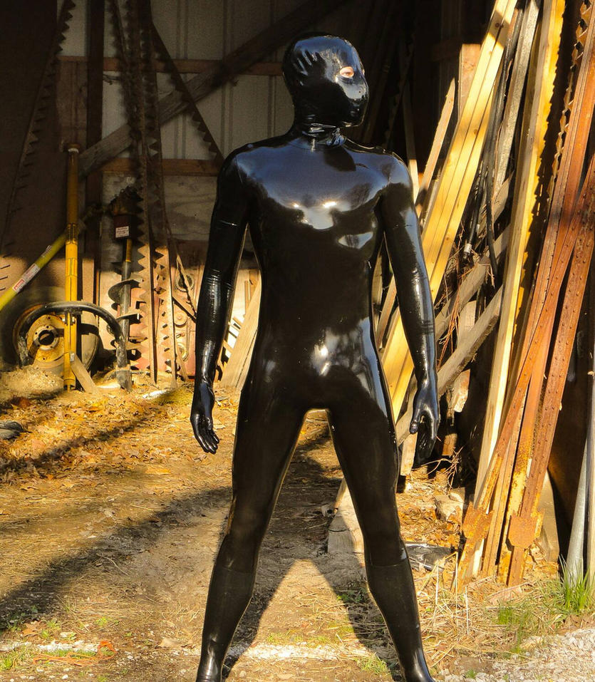 latex catsuit by LATEXSPYDER