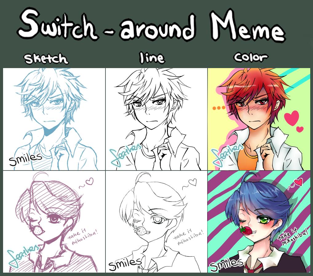 Switch-Around Meme by behindsmiles
