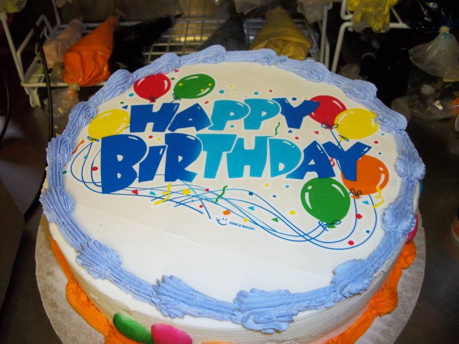 Birthday Balloon Cake by mattsprettygirlTiff