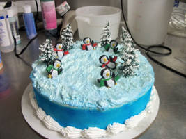 Penguin Cake by mattsprettygirlTiff