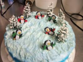 Another shot of  Penguin Cake by mattsprettygirlTiff
