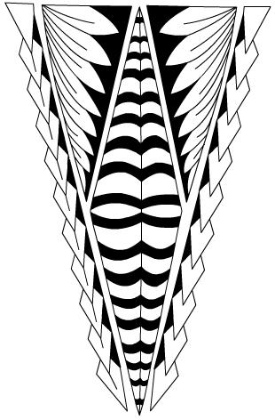 tongan leg tattoo tatau by xsiiana on deviantart. Black Bedroom Furniture Sets. Home Design Ideas