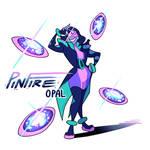 Gemsona Pinfire Opal