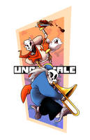 Undertale Fanart Collection 2 :: Papyrus n Sans by 7-Days-Luck