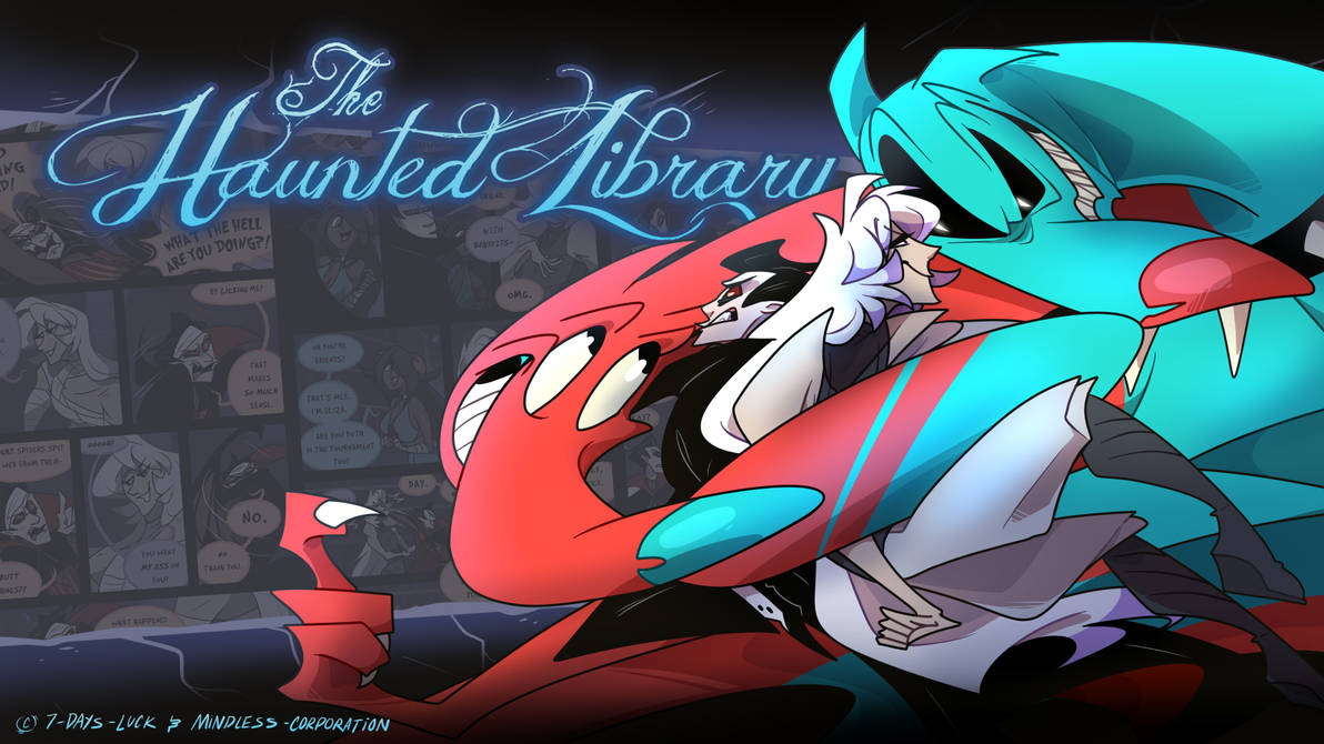 The Haunted Library OCT Wallpaper