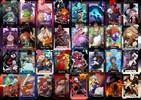 Wizard Palooza OCT - Round 1 Character Portraits by 7DaysLuck