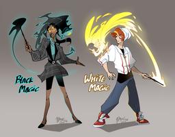 Modern Wizard Concept