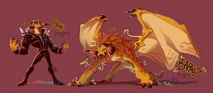 Dragon Concept - Barvut Forms