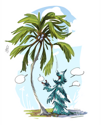 OC Concept - Cocos and Pines Tree Talk