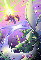 Project Orbis - Lurantis and Scyther Showdown