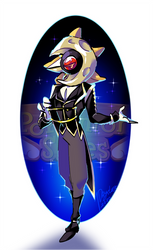 PKMN Skies - Masquerade Ball - Percival Costume