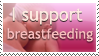 I support Breastfeeding Stamp by InspiredInstinct
