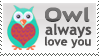 Owl Always Love you Stamp by InspiredInstinct