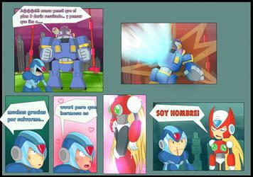 Megaman X comic : 2 by XNaKaMaX