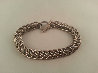 Half Persian 3in1 Chainmaille Braclet Sm. by Vkarmoury