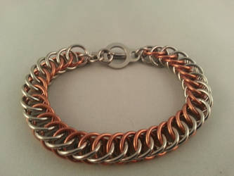 Half Persian 4in1 Chainmaille Bracelet by Vkarmoury