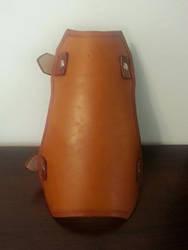 Leather Dwarf Bracer by Vkarmoury