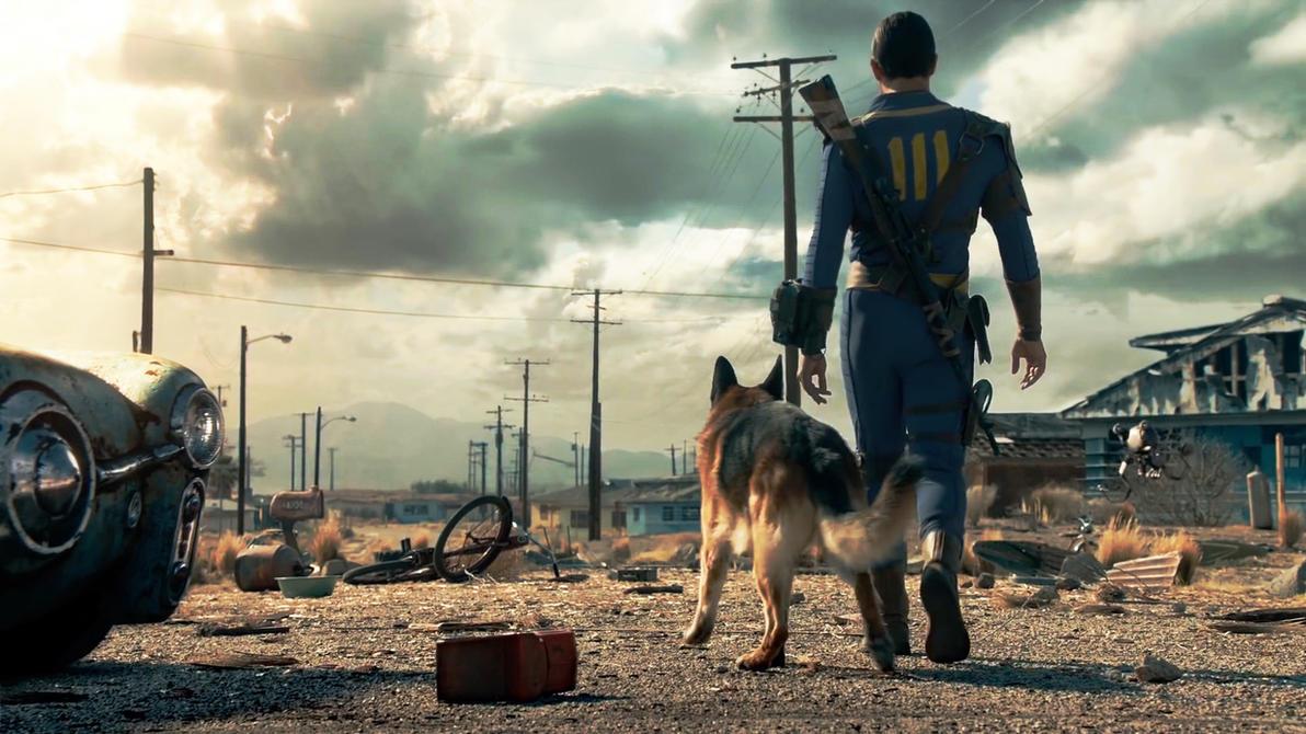 Fallout 4 Wallpaper By Otrixx On Deviantart