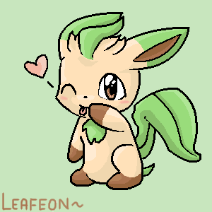 Leafeon by JirachiLegend