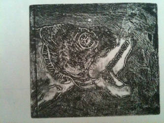fish etching wip by LaLa-Lily