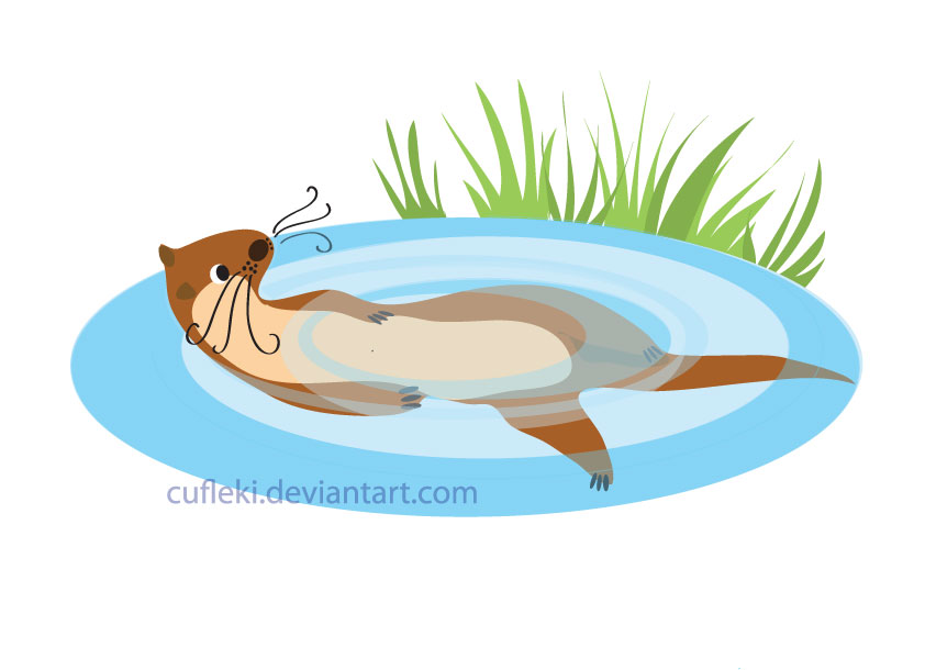 Little Otter by Cufleki
