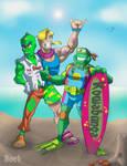 Mutant surfers