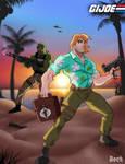Leaving Cobra Island by MikeBock