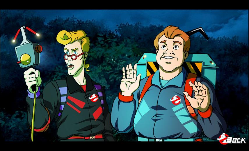 Ghostbusters Power packs by MikeBock