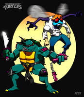 Slash and Baxter by MikeBock