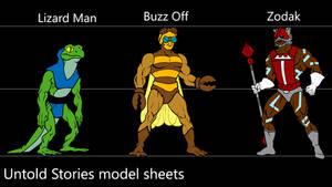 Bock's MOTU model sheets 2