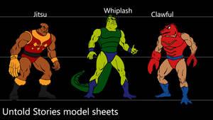 Bock's MOTU model sheets 6
