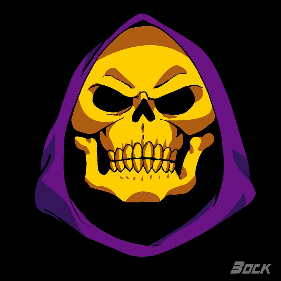 Skeletor's face by MikeBock