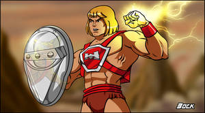Thunder Punch He-Man Filmation Style!