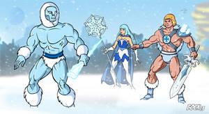 Ice attack!