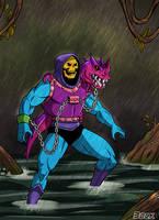Skeletor Dragon Blaster by MikeBock