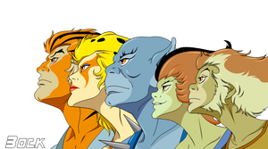 Thundercats  group Render