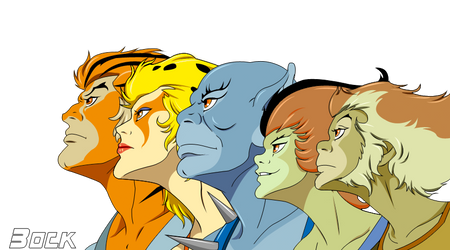 Thundercats  group Render