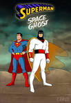 Superman and Space Ghost Team up