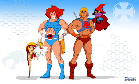 He-Man and Lion-O