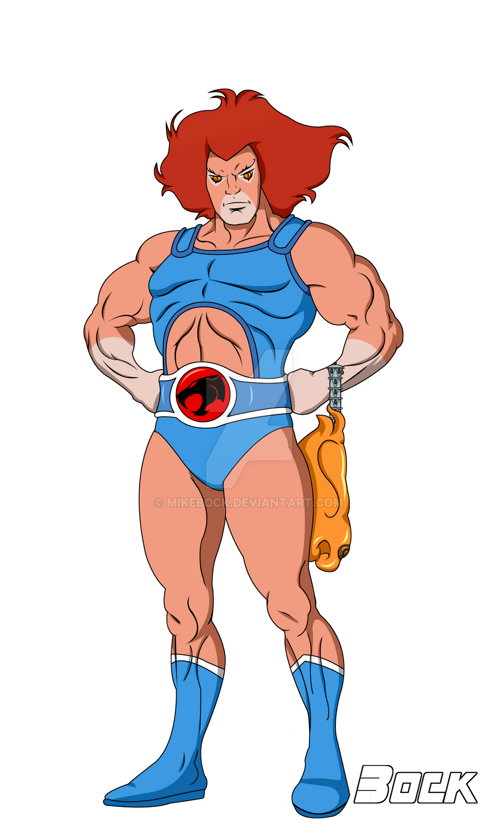 Lion-O Lord of the Thundercats by MikeBock
