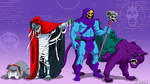 Mumm-Ra and Skeletor