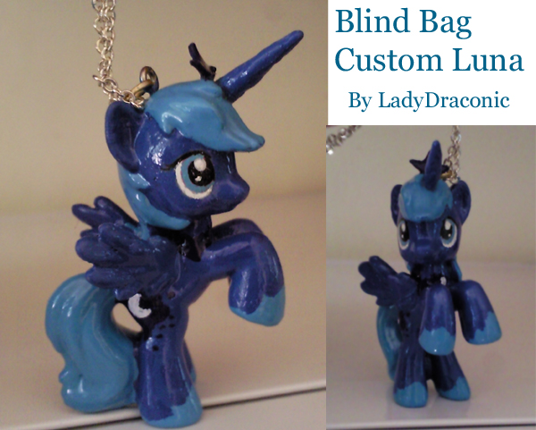 MLP: FIM Custom Blind Bag Luna by LadyDraconic