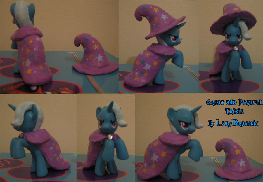 MLP: FIM Custom G and P Trixie by LadyDraconic