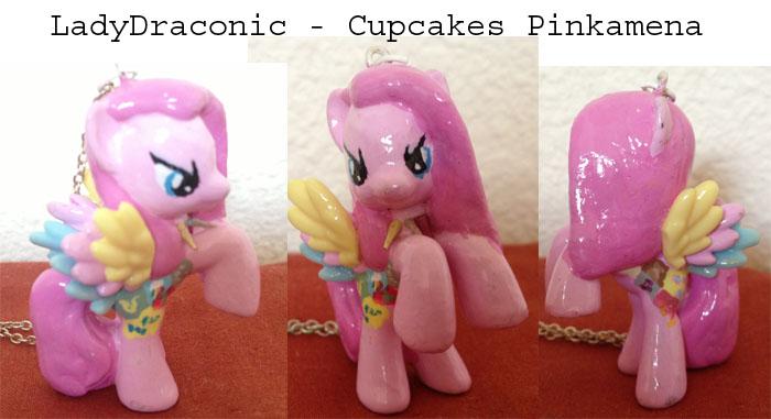 Pinkamena And Pinkie Pie And Surprise