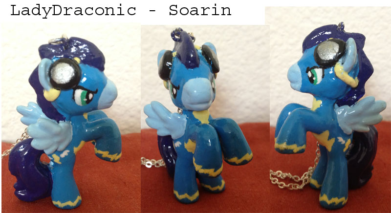 MLP: FIM Soarin Wonderbolts custom Blind Bag Pony by LadyDraconic